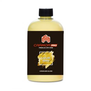 Carmor PRO Liquid Wax 500ml Cleaner